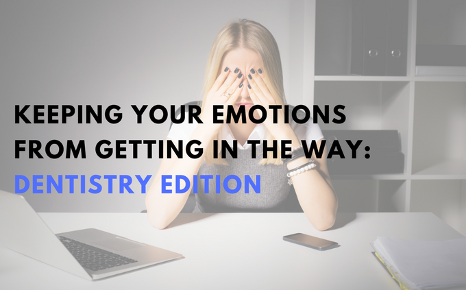 Keeping your emotions from getting in the way