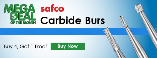 Safco Carbide Burs