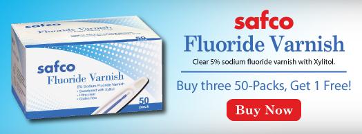 Safco Fluoride Varnish