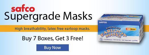 Safco Supergrade Masks
