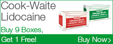 Cook-Waite Lidocaine