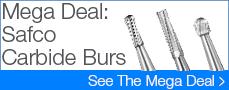 Safco Carbide Burs Mega Deal