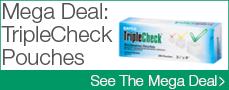TripleCheck Pouches Mega Deal