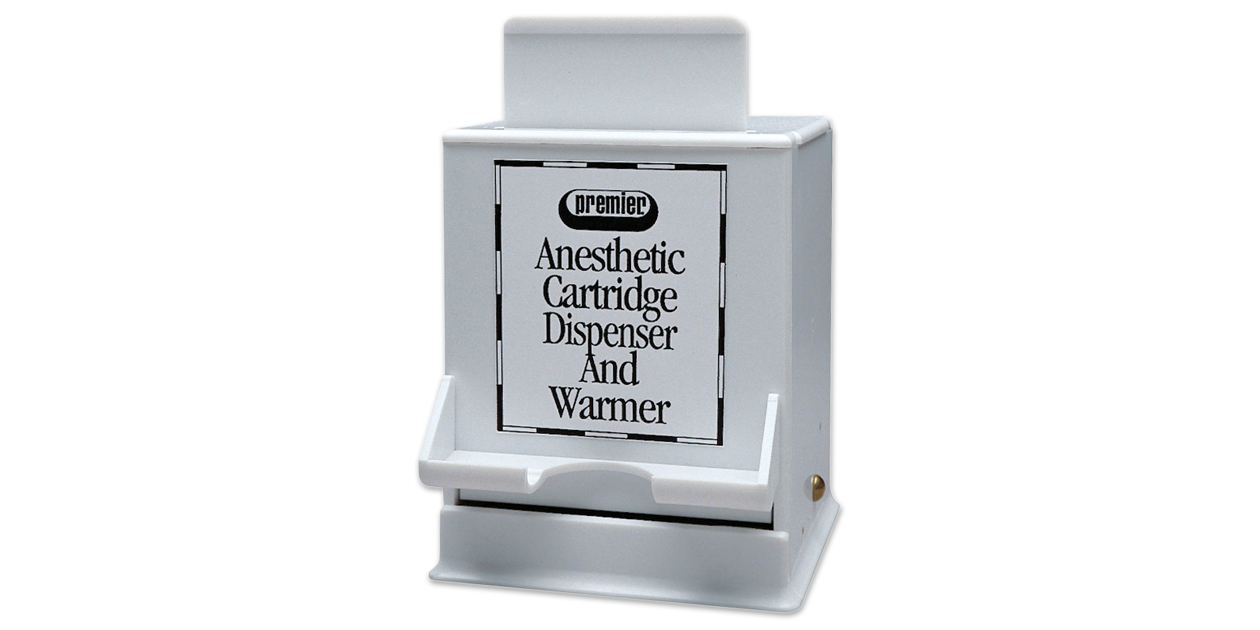 Cartridge dispenser & warmer