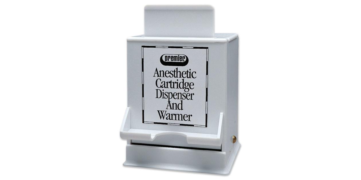 Cartridge dispenser & warmer