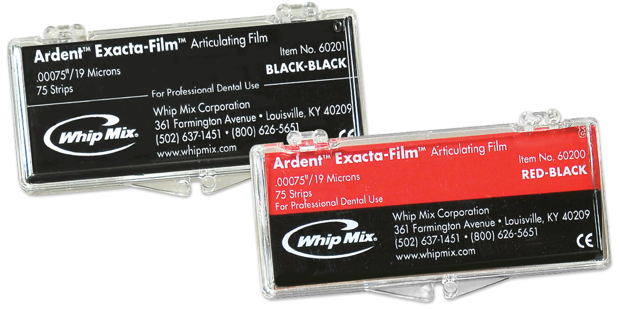 Ardent Exacta-Film articulating film