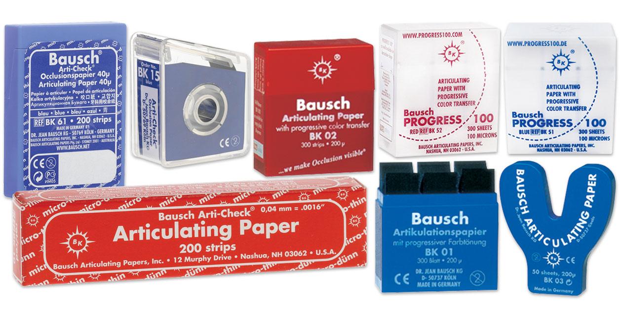 Bausch articulating paper