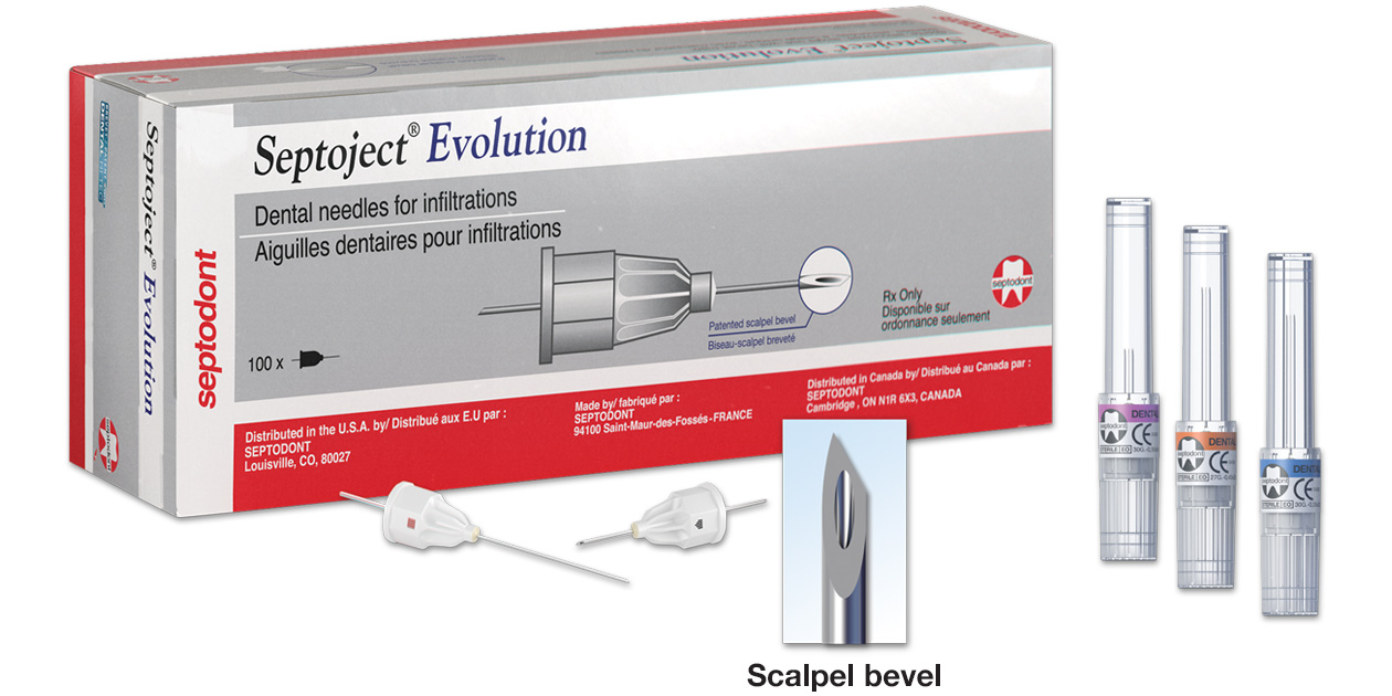 Septoject Evolution needles
