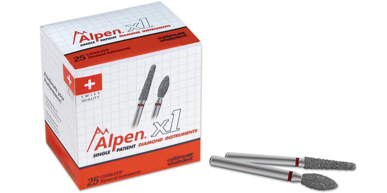 Alpen x1 diamonds