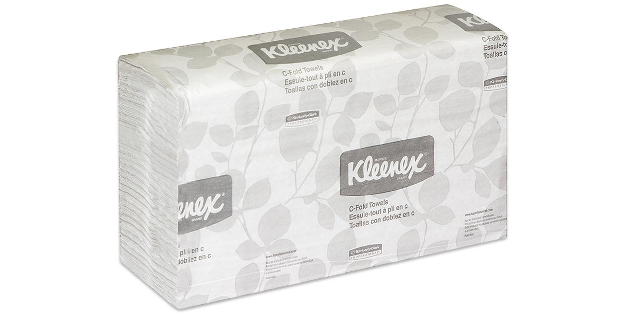 Kleenex C-fold towels (#150)