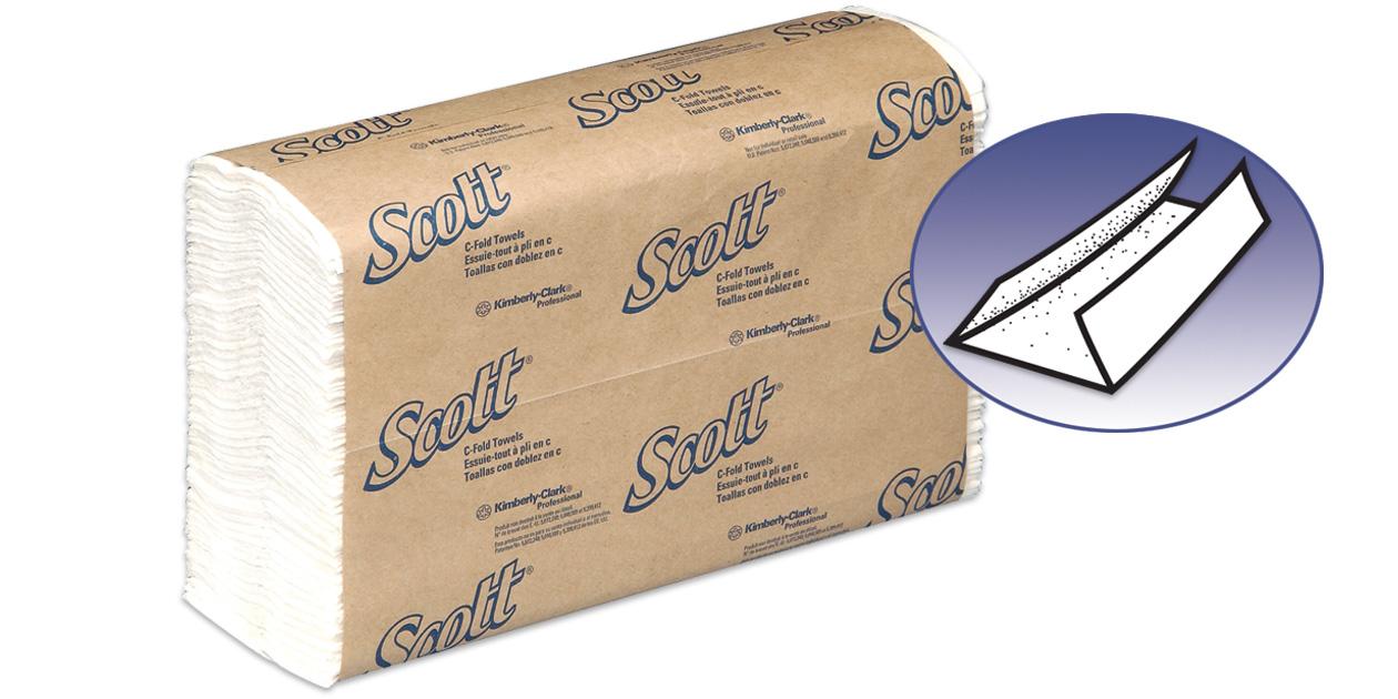 Scott C-fold towels (#151)