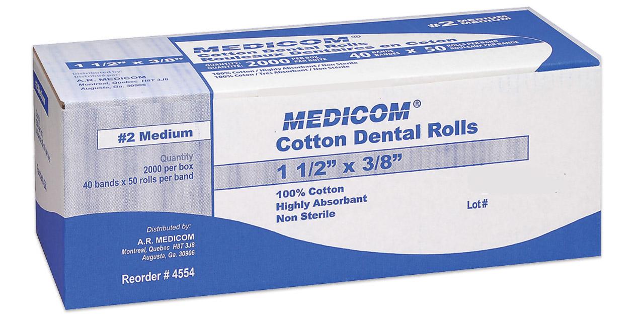 Medicom cotton rolls