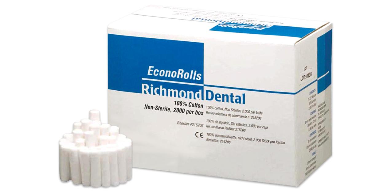 Richmond econo cotton rolls