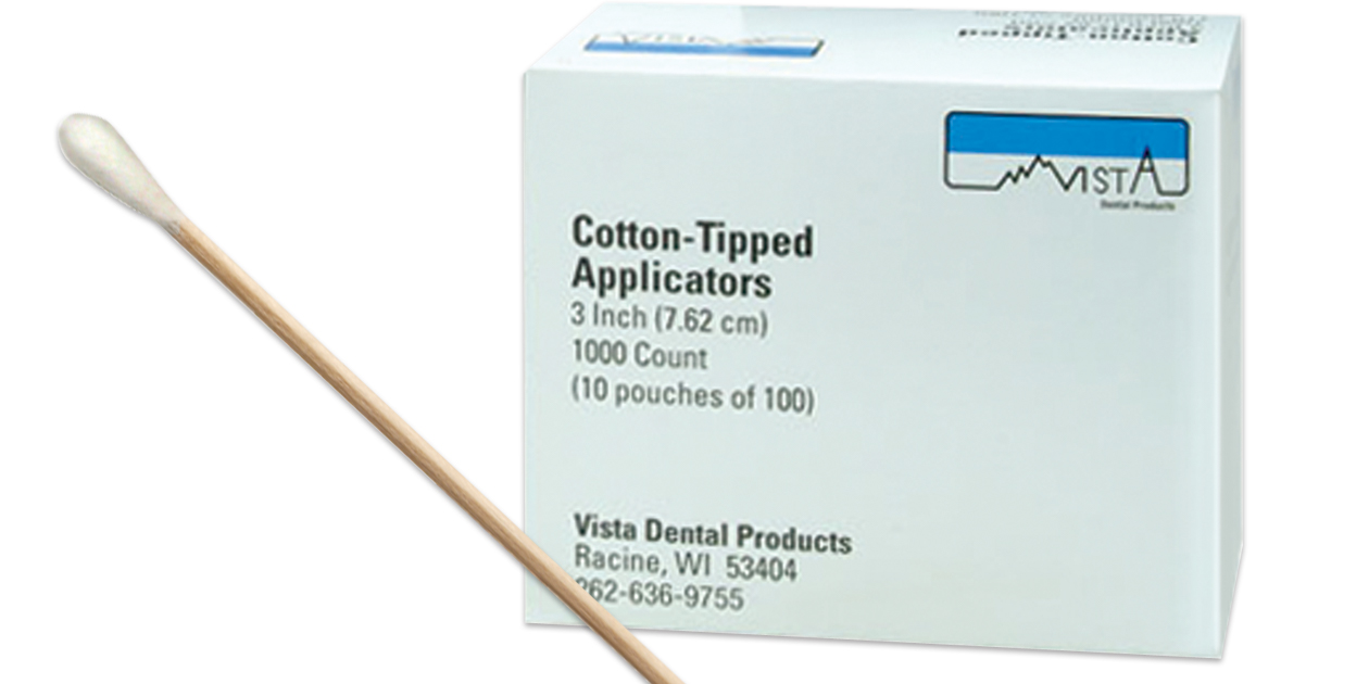 Vista cotton tipped applicators