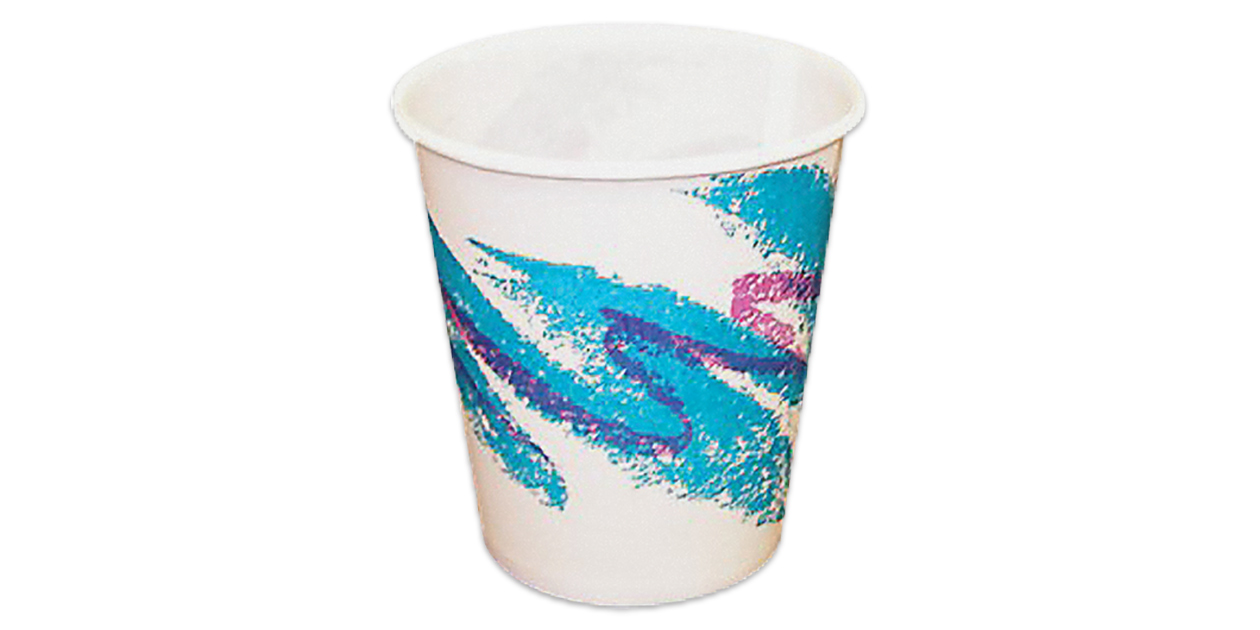 Solo waxed paper cups