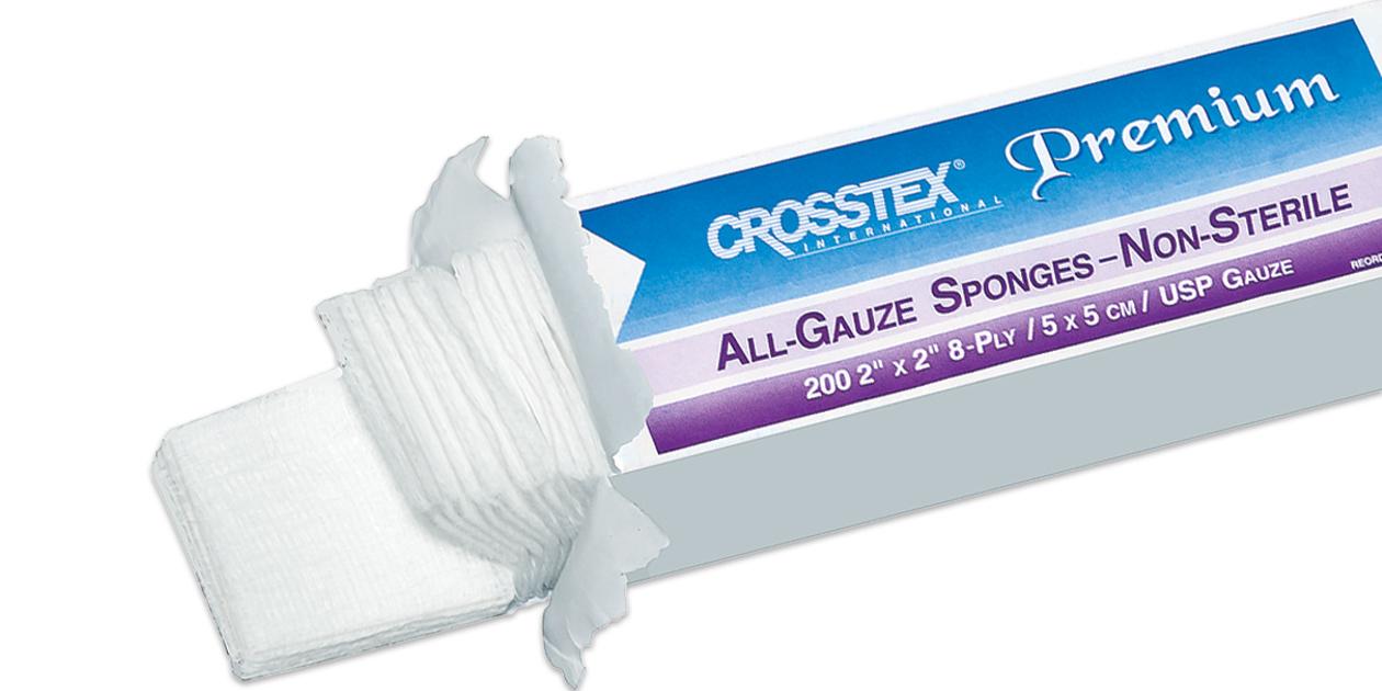 Crosstex Premium all-gauze