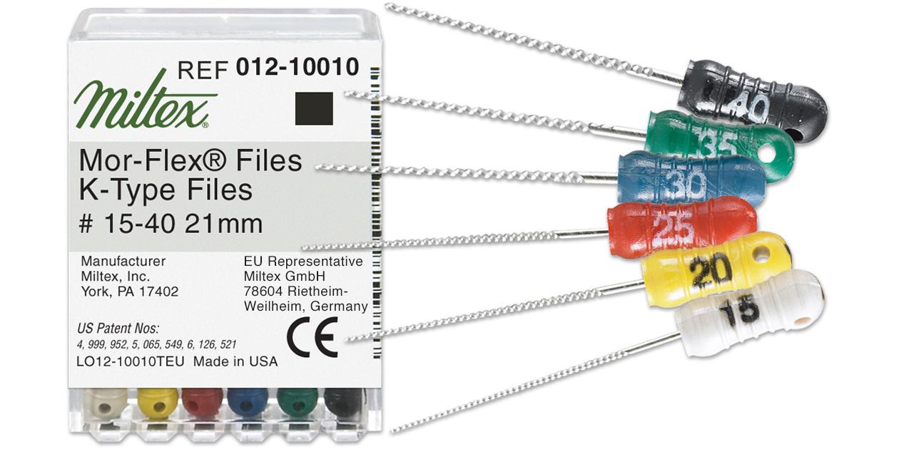 Integra Miltex Mor-Flex K-files