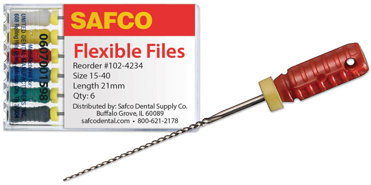 Safco flexible files
