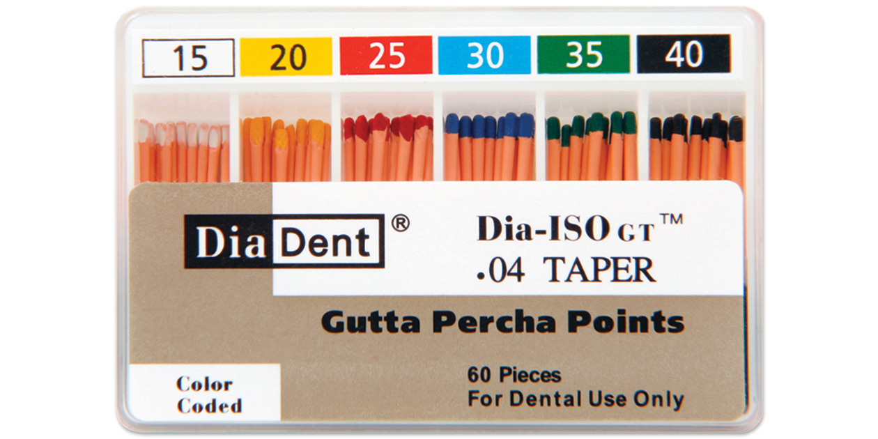 Diadent Gutta Percha Points Dia Iso Gt Safco Dental Supply
