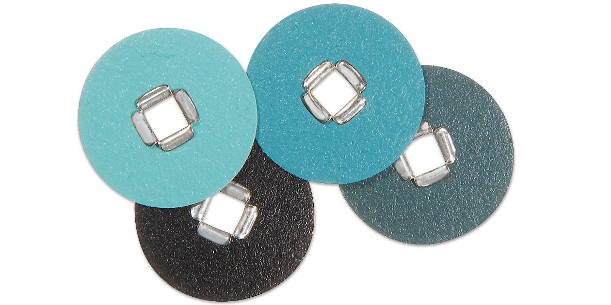 3M™ Sof-Lex™ square eyelet finishing and polishing discs