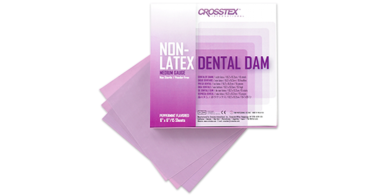 Non latex dental dam