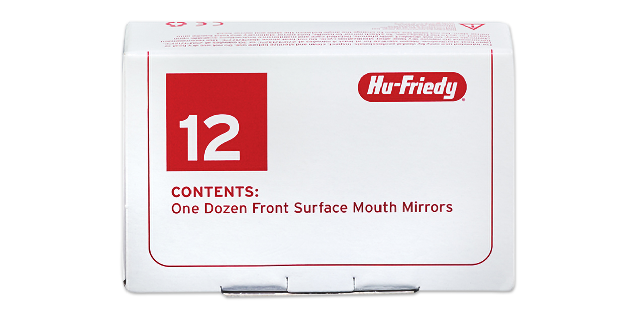 Hu-Friedy front surface mirrors