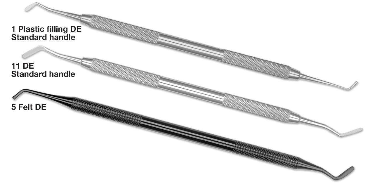 Hu-Friedy composite & plastic filling instruments