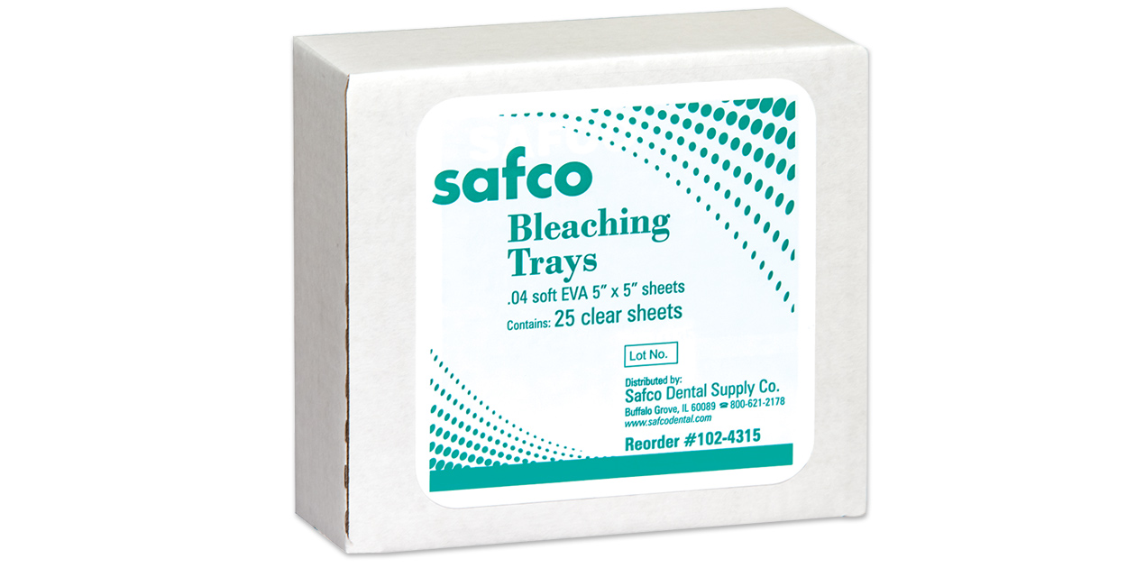 Safco bleaching trays