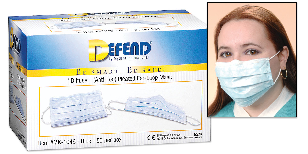 Defend earloop masks