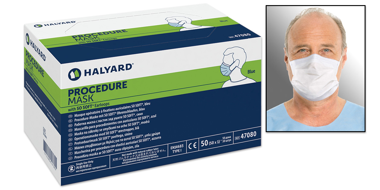 Halyard procedure mask