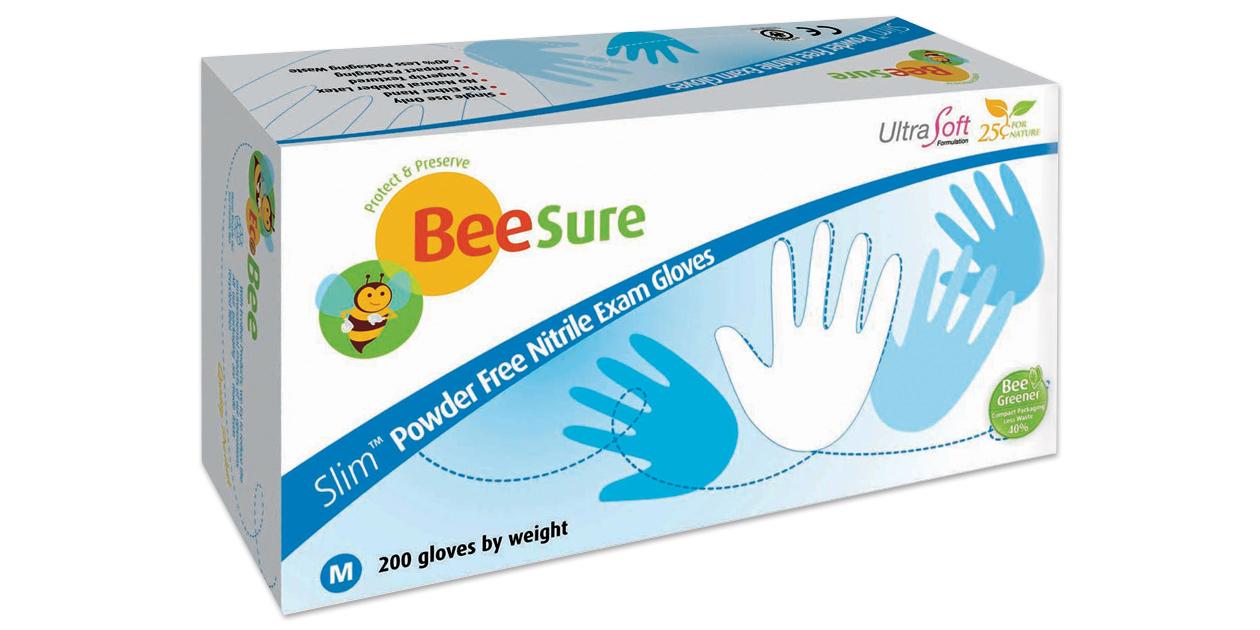BeeSure Slim Nitrile