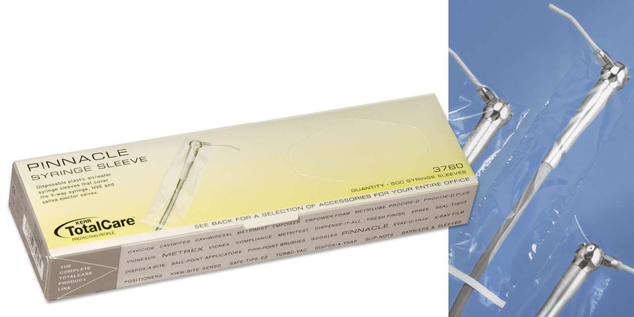 Pinnacle syringe sleeve