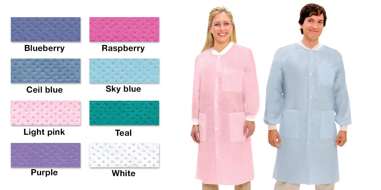 ValuMax Extra-Safe disposable lab coats