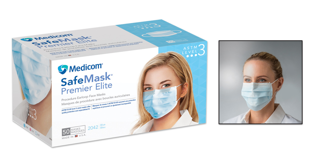 medicom surgical mask level 3