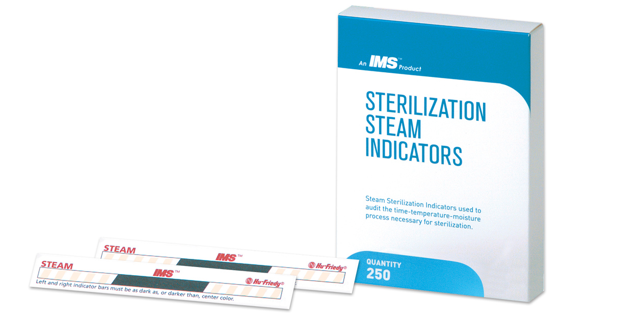 IMS sterilization steam indicators