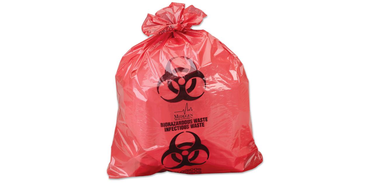 Medegen infectious waste bags