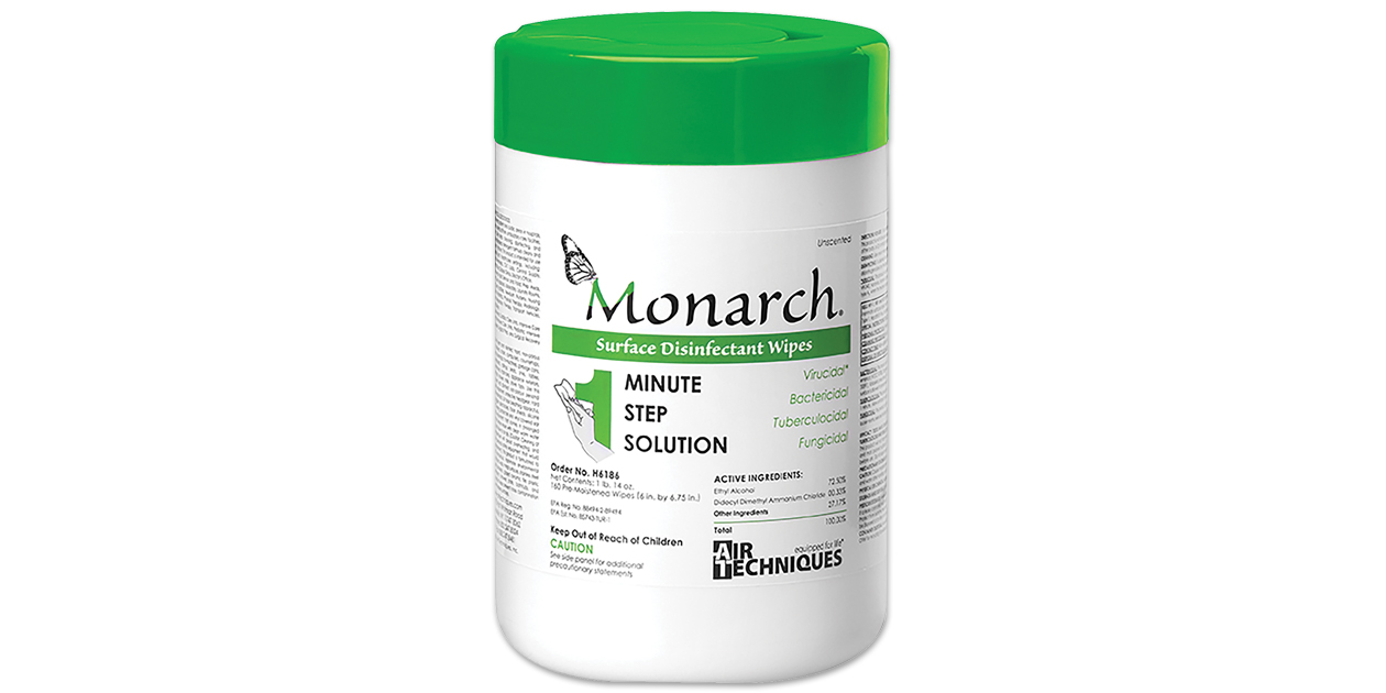 Monarch Surface Disinfectant Wipes