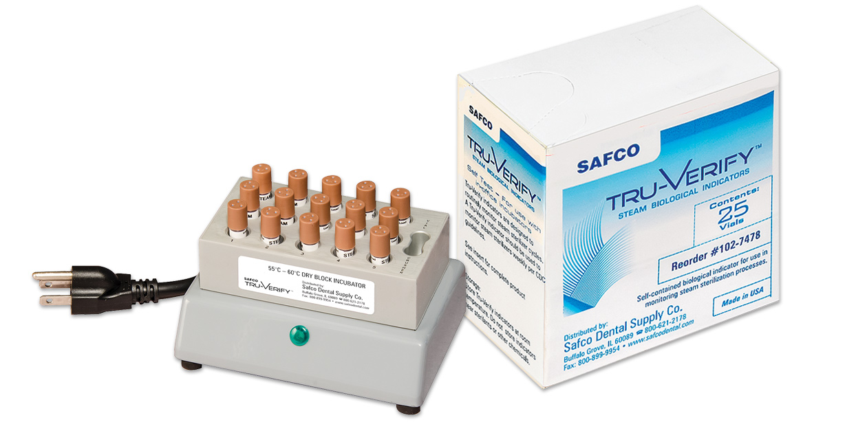 Safco Tru-Verify in-office biological monitor