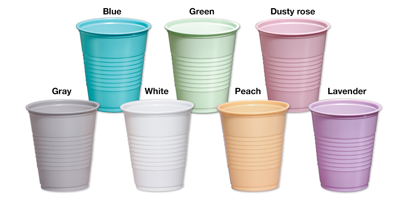 Safco plastic drinking cups