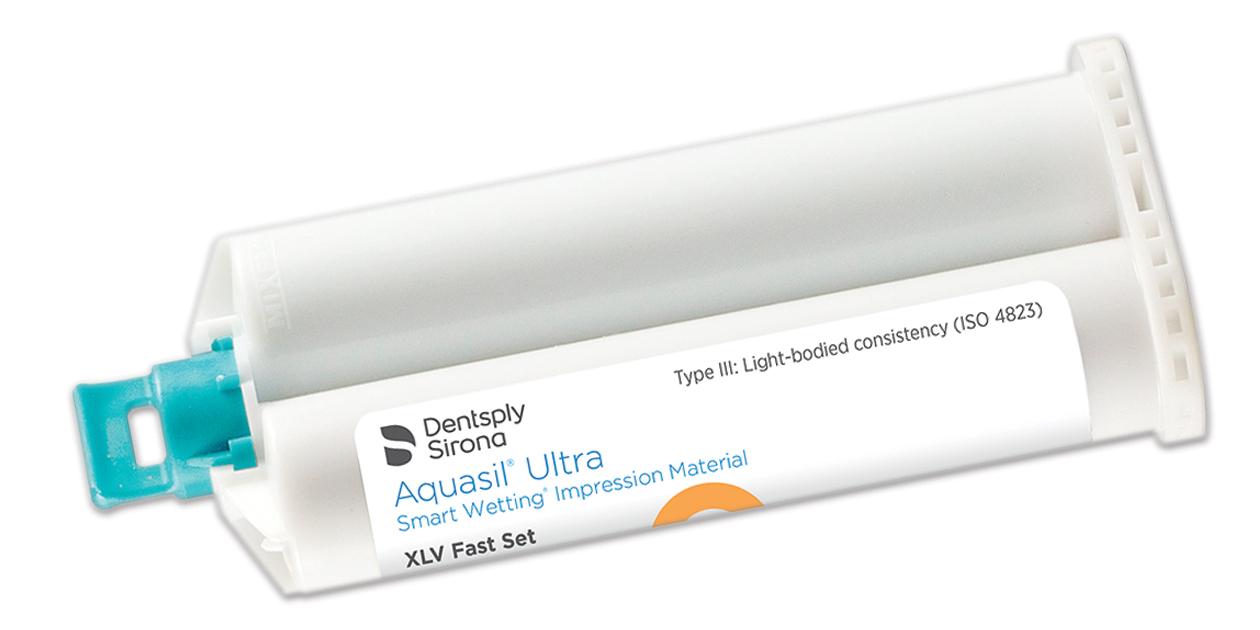 Aquasil Ultra 50ml cartridges without B4