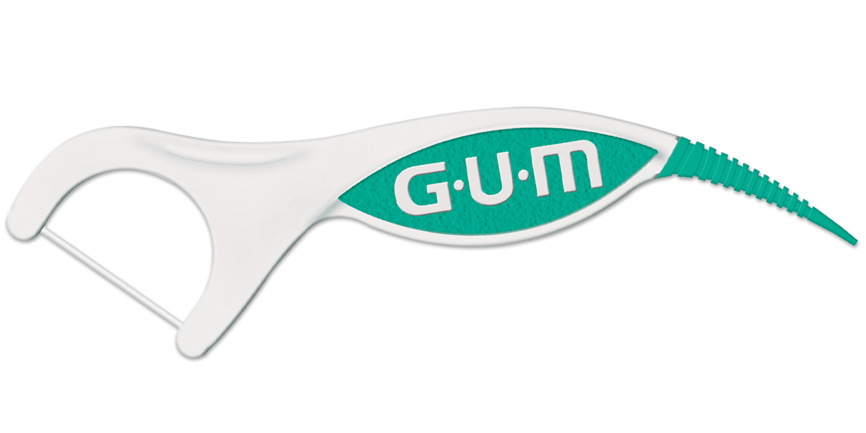 GUM Professional Clean Plus Floss Picks