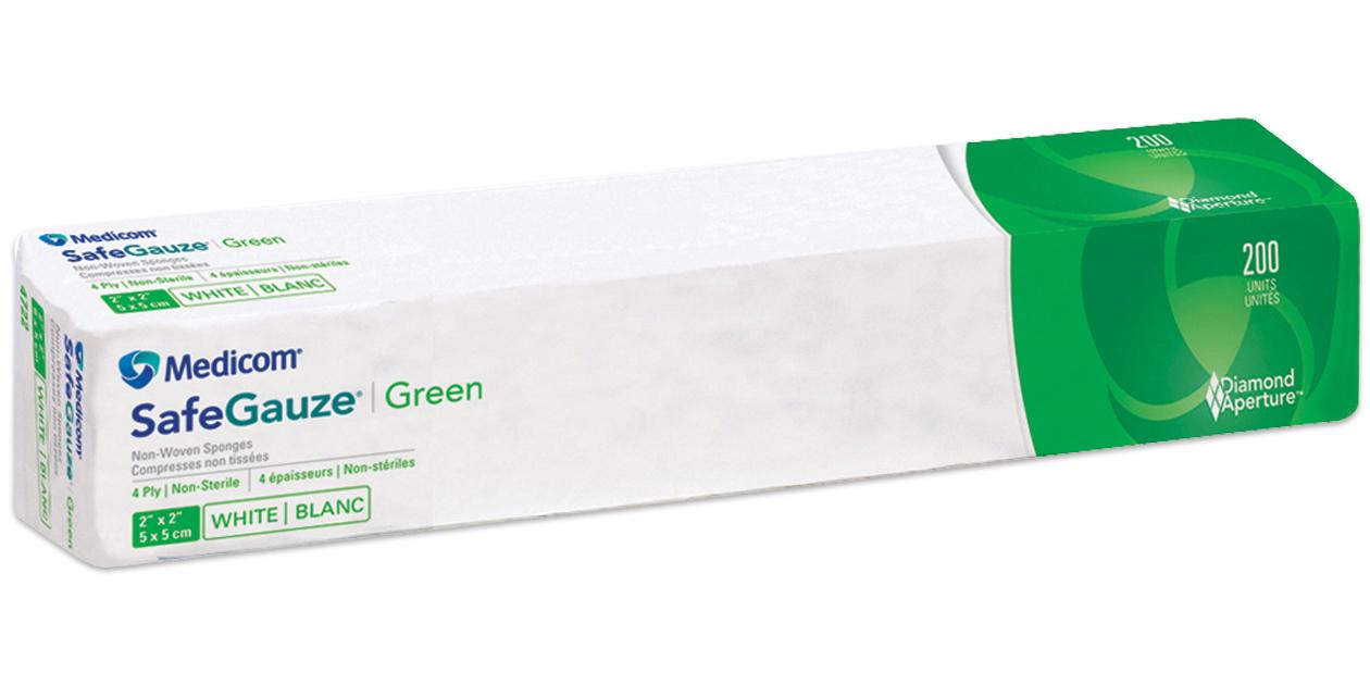 SafeGauze Green