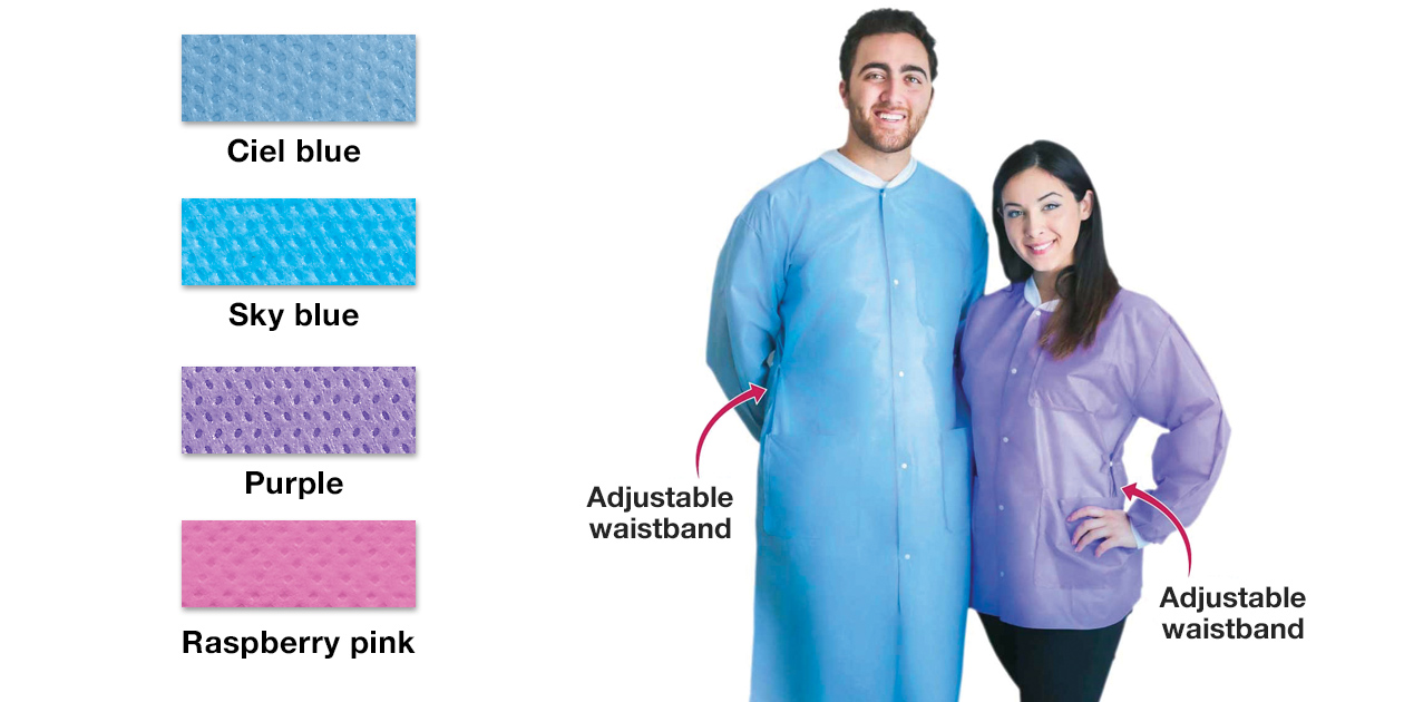 FitMe disposable jackets