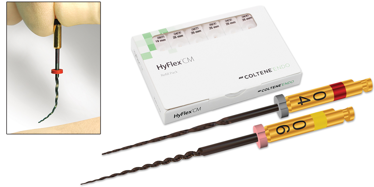 Hyflex CM nickel titanium rotary files