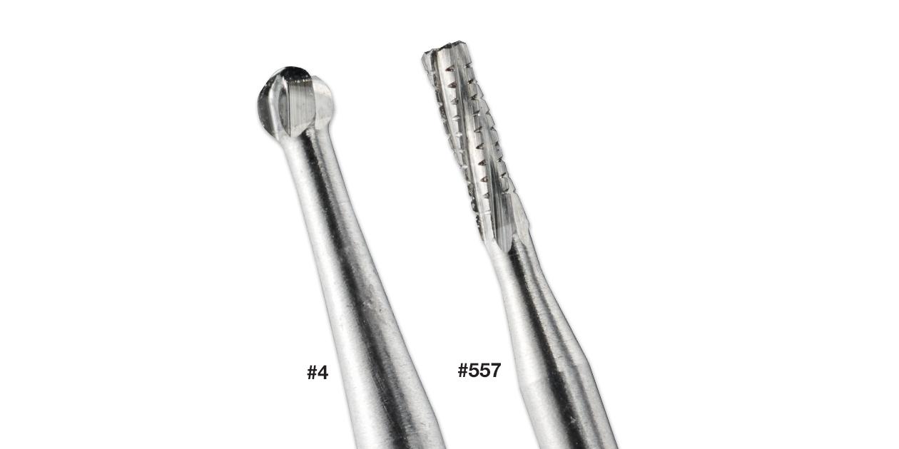 Axis NTI - FG, RA (latch) and HP burs