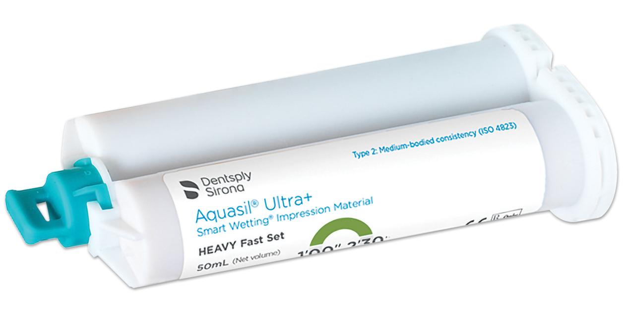 Aquasil Ultra+ 50ml cartridges