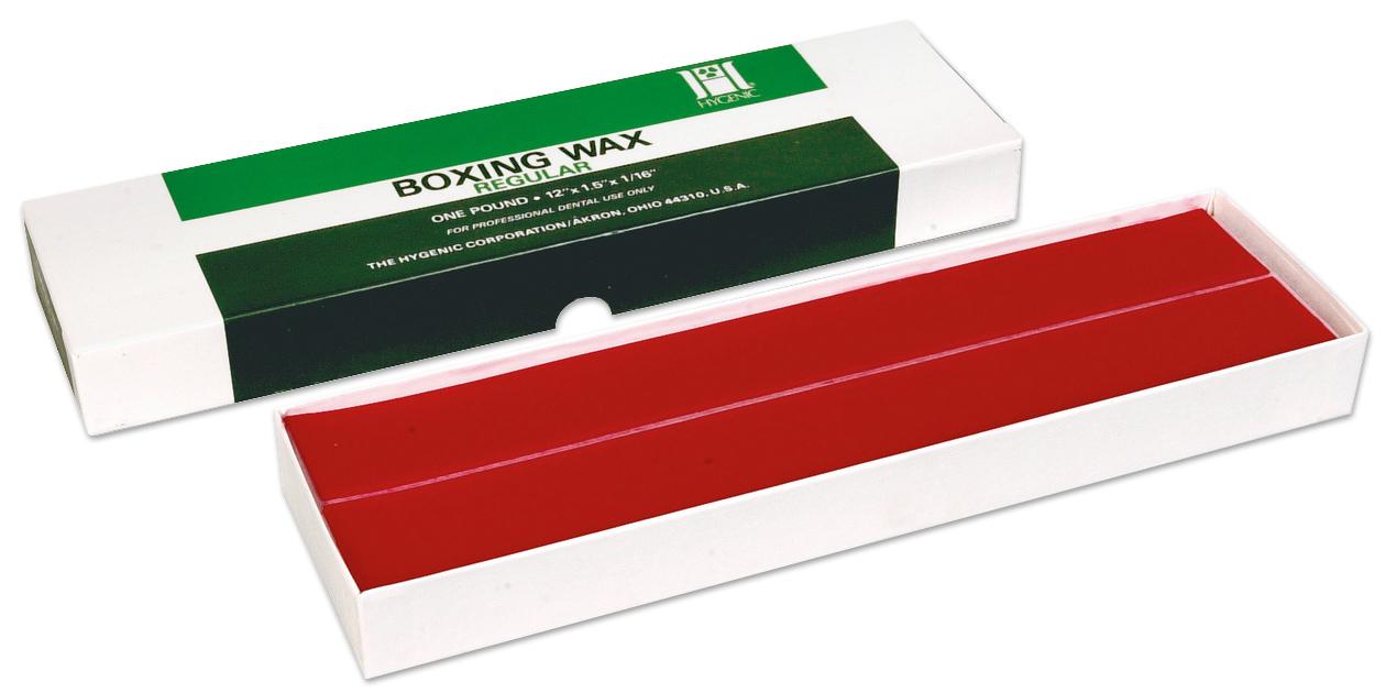Hygenic boxing wax