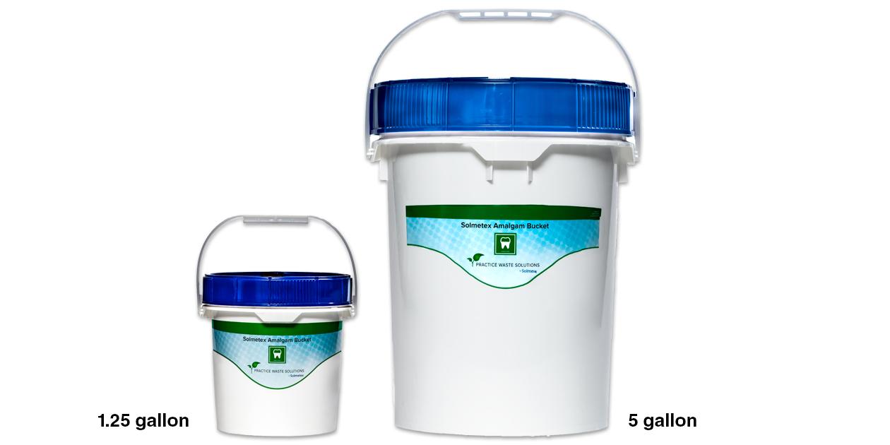 Solmetex Amalgam Buckets