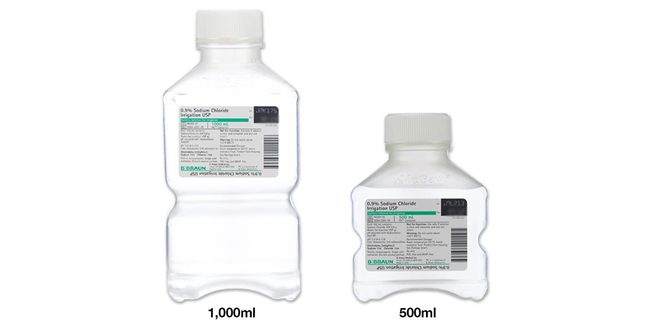 Sodium chloride 0.9% for irrigation - B Braun