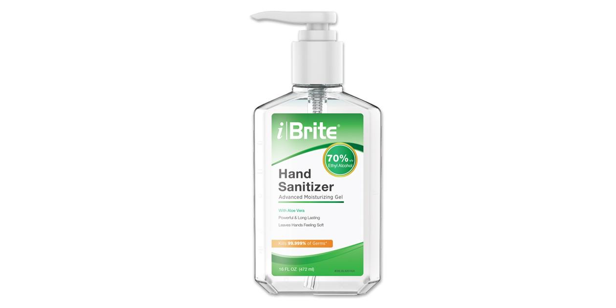 iBrite hand sanitizer